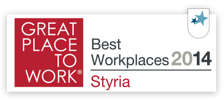 Great place to work 2014 - Best workplaces Styria