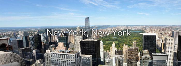 Die Praktikums-Challenge Gewinnerin Sara reist nach NYC