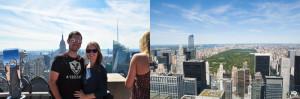 Über den Dächern in NYC