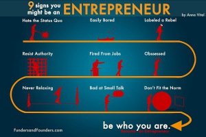 9 Signs you might be an Entrepreneur