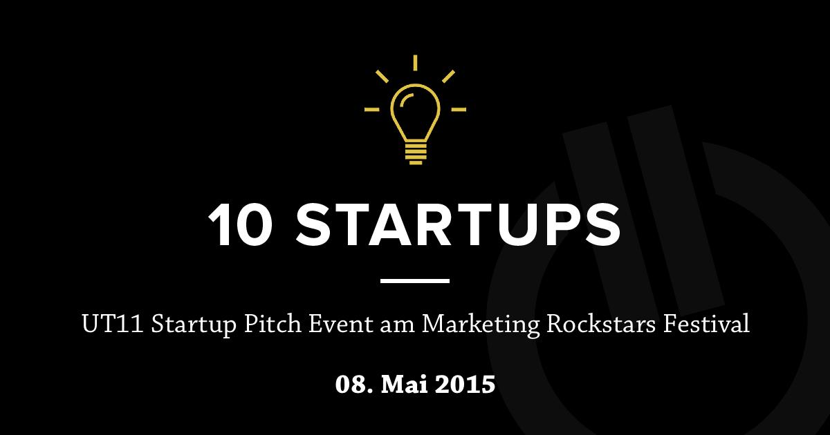 Diese 10 Startups dürfen sich vor der Jury beweisen