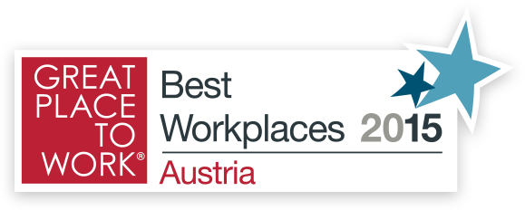 Great place to work 2015 - Best Workplaces Austria 2015