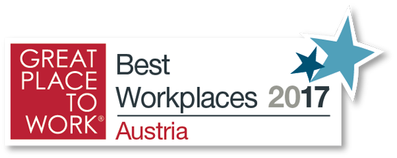 Great place to work 2017 - Best Workplaces Austria 2017